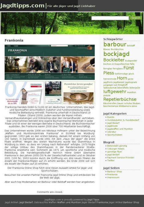 frankonia jagd online