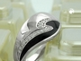Schmuck by GB - Ring, schwarz mit Zirkonias, Silber 925 -94042-56
