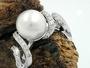 Schmuck by GB - Ring, Perle mit Zirkonias, Silber 925 -94043-56