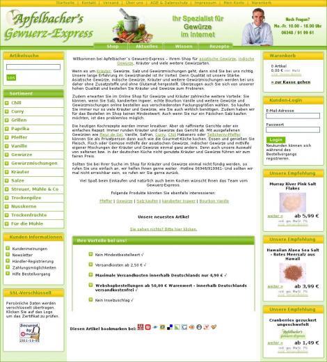 Apfelbacher gewürze