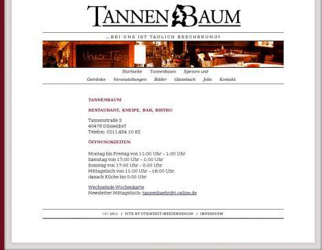 Gaststätte Tannenbaum.Andreas Bähr Gaststätte Tannenbaum Düsseldorf Nordrhein