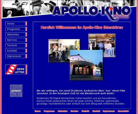 Apollo Kino Center Inhaber Hermann Engbrink Ibbenbüren
