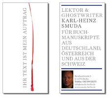 Lektorat, Ghostwriting, Redaktion weltweit: Karl-Heinz Smuda
