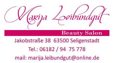 Marija Leibundgut Beauty Salon