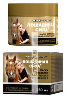 Haarmaske, Schmelzende, nahrhafte Maske, Horseforce, 250ml