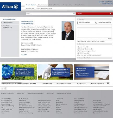 allianz kilometerstandsmeldung online