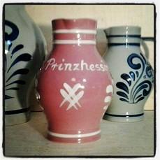 Prinzhessin Rosa Apfelwein Bembel 1,0 Liter