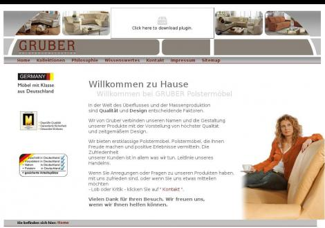 Gruber Polstermöbel GmbH • Sonnefeld • Bayern • gruberpolster.de