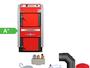 ATMOS GS40 Scheitholzvergaser Holzvergaserkessel Komplettset 1