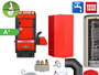 Atmos P20 BAFA geförderter Pelletkessel mit Holznotbetrieb Komplettset 4