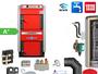 ATMOS GS40 Scheitholzvergaser Holzvergaserkessel Komplettset 5