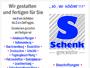 Schenk Graphics Werbegestaltung - Beschriftung / Drucksachen