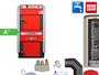 ATMOS GS40 Scheitholzvergaser Holzvergaserkessel Komplettset 4