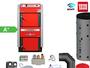ATMOS GS40 Scheitholzvergaser Holzvergaserkessel Komplettset 3
