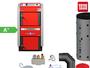 ATMOS GS25 Scheitholzvergaser Holzvergaserkessel Komplettset 2