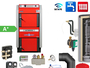 ATMOS GS32 Scheitholzvergaser Holzvergaserkessel Komplettset 5