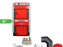 ATMOS GS32 Scheitholzvergaser Holzvergaserkessel Komplettset 1