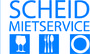 SCHEID MIETSERVICE I Mietgeschirr & Mietmöbel für Messe, Kon