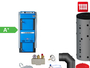 Atmos GSX70 Scheitholzvergaser Komplettset 2